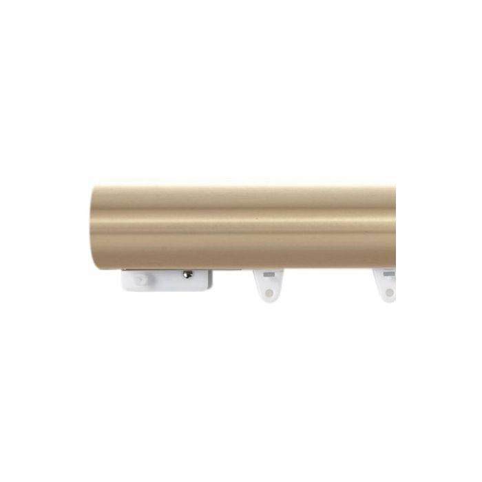 Kirsch 1 3 8 Estate Designer Metals, Decorative Traverse Curtain Rods