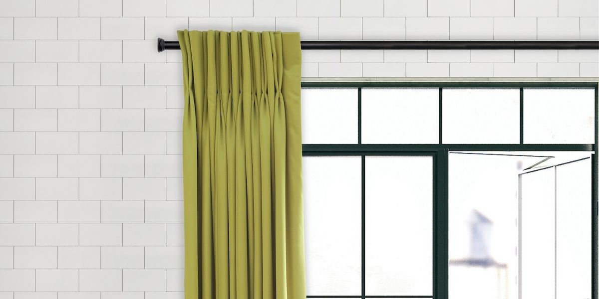 7 Tips For Choosing A Curtain Rod, How To Select Curtain Rod Size